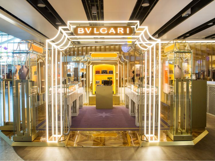 Launch of the Bvlgari Pop Up Store